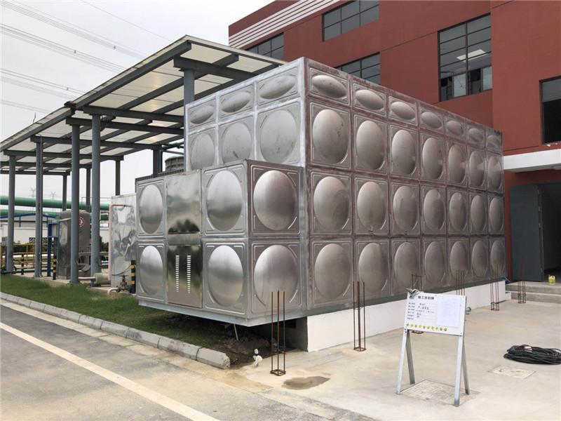 不锈钢80T方形组合式保温水箱